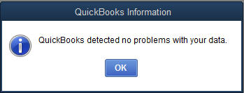 QuickBooks-detected-no-problems-with-your-data