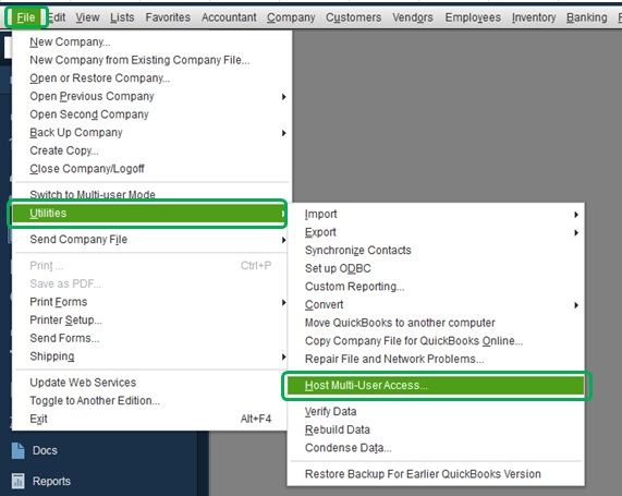 Host Mode Search on Each of the Users Computers