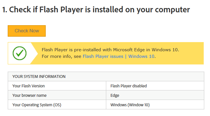 Update Flash Player on Windows with .Net System, Java, and Adobe
